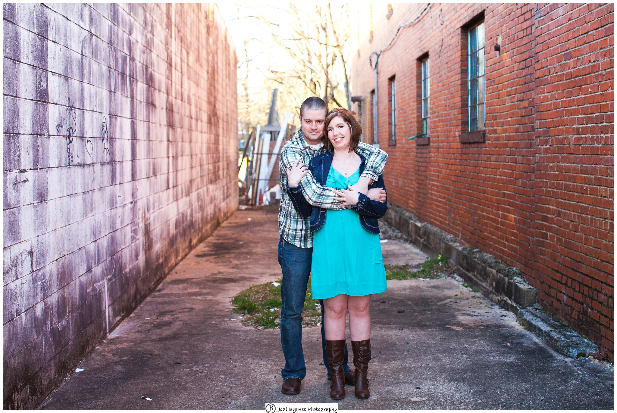 Engaged in Greenville Portraits