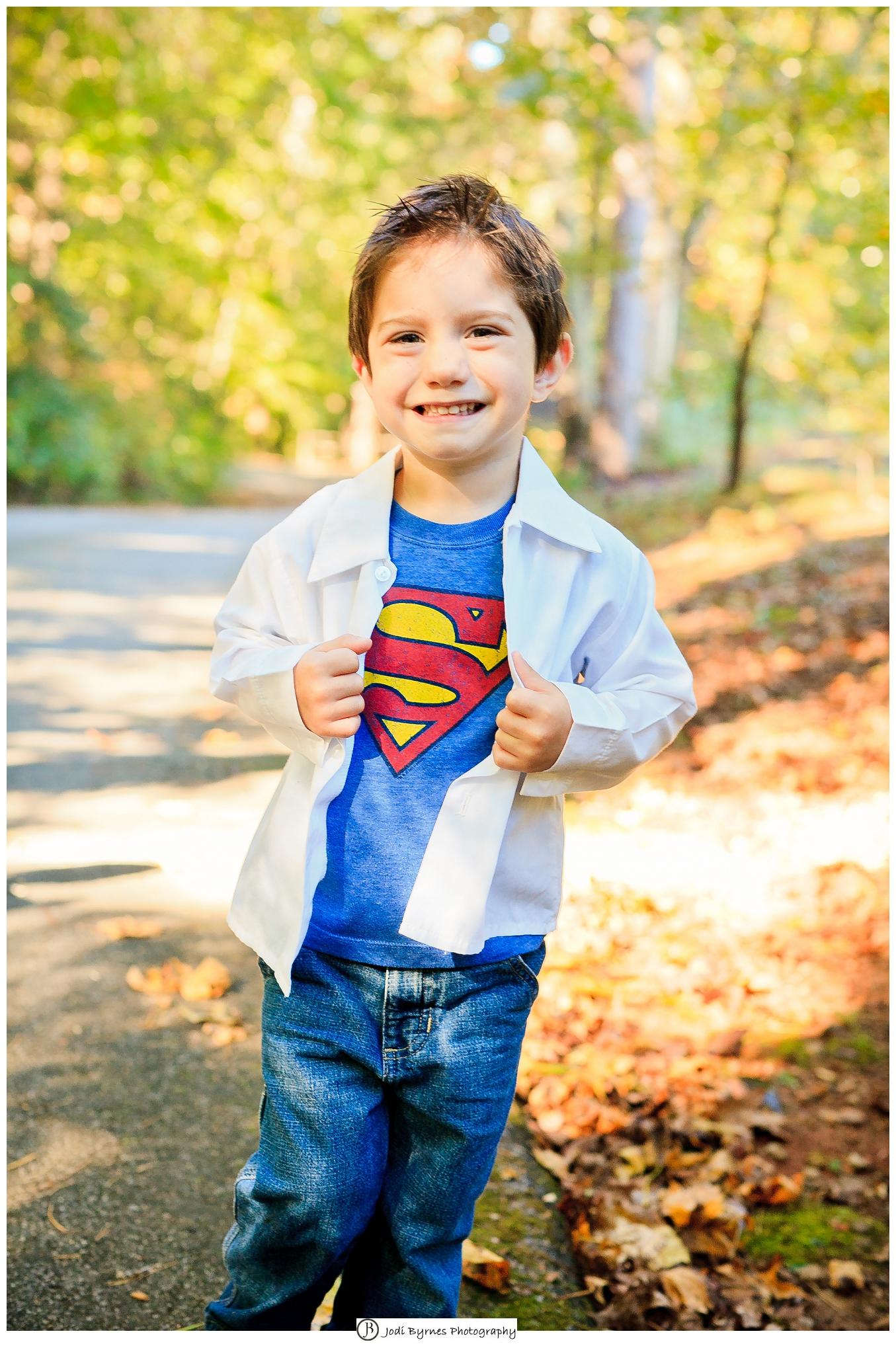 little boy superman shirt