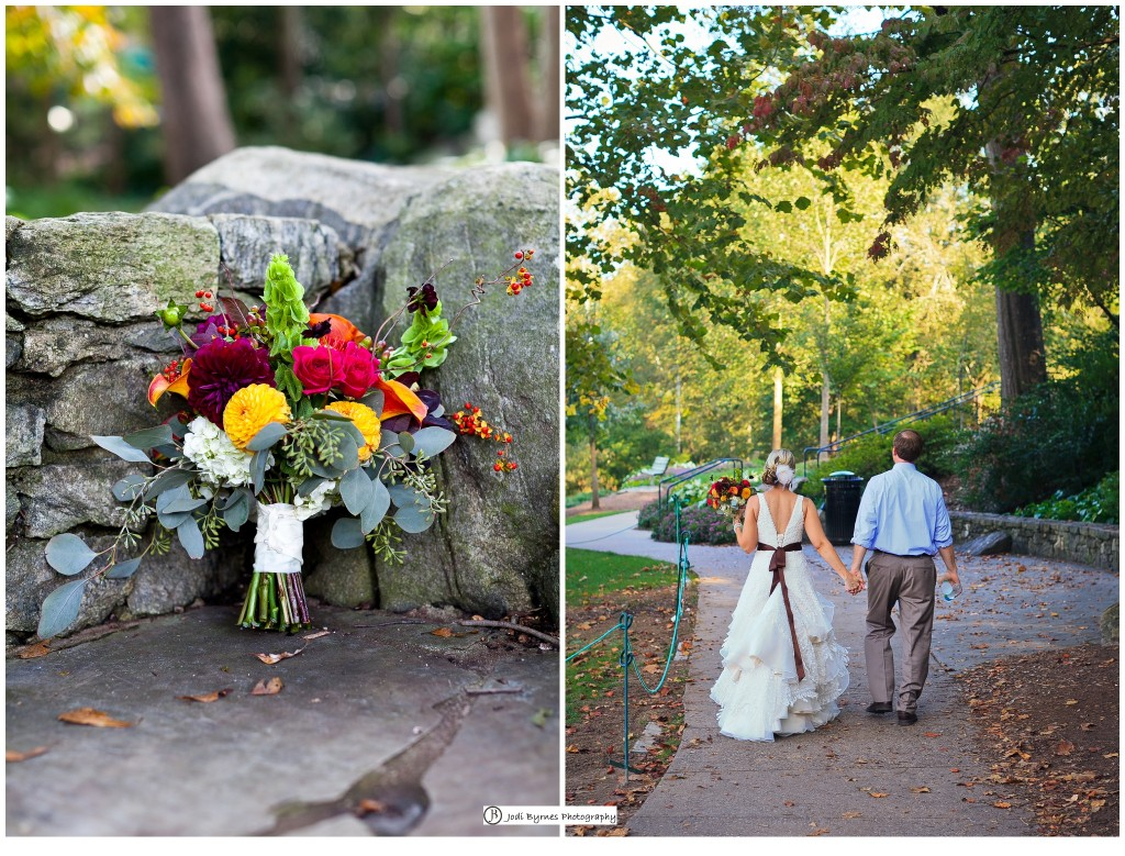 Simple wedding bouqet