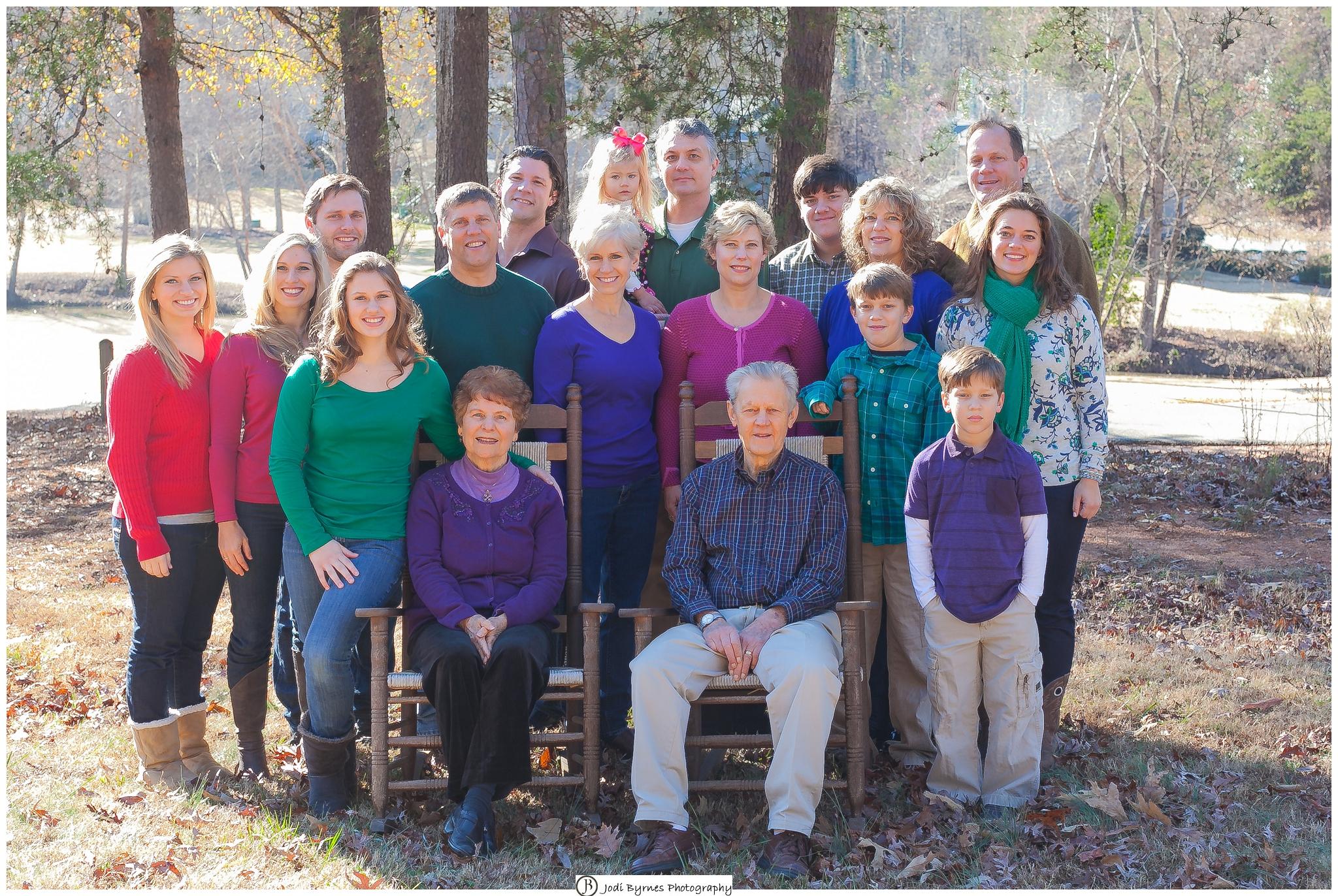 large family photoshoot
