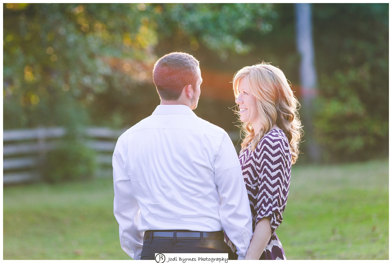 rustic country engagement
