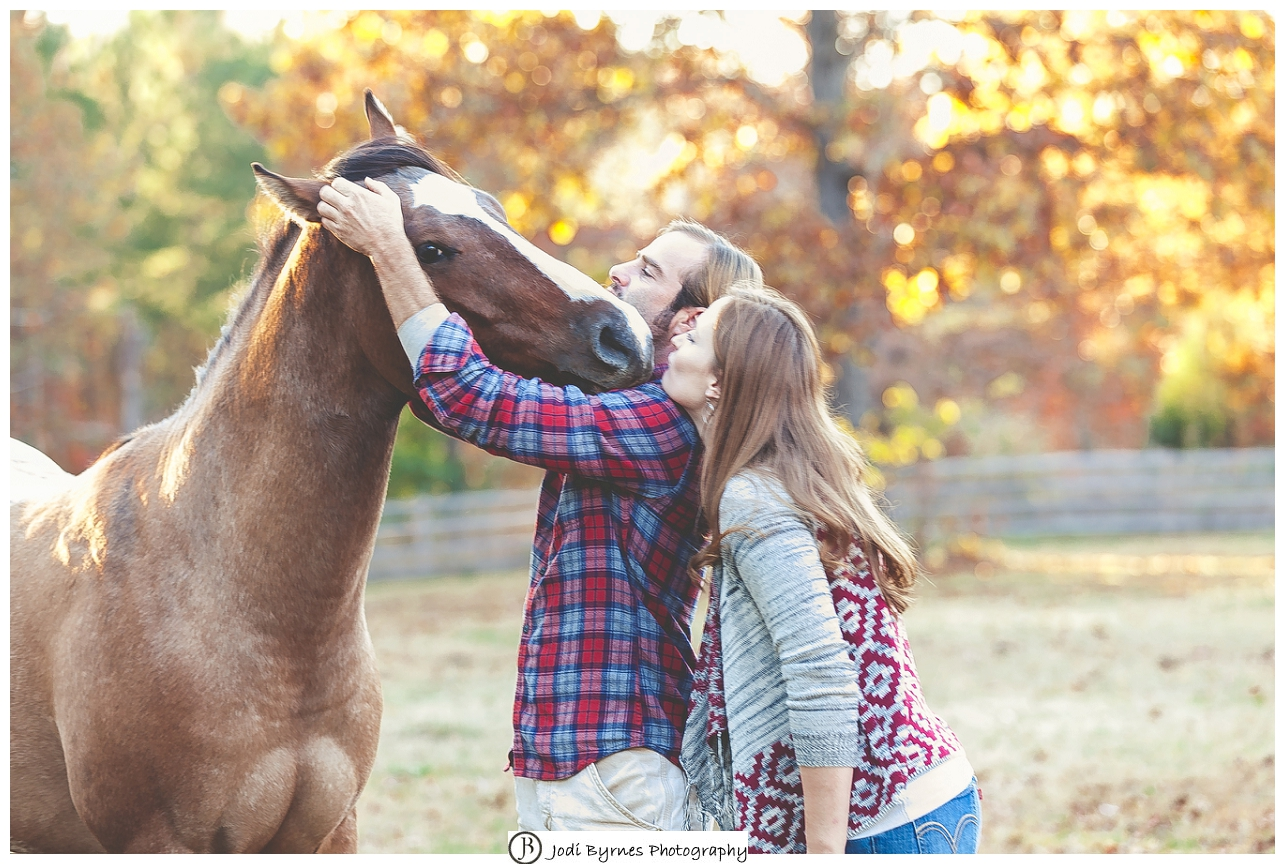 country pictures with a horse