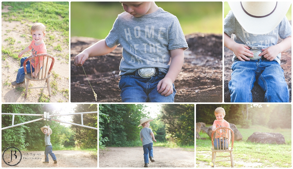 cowboy pictures of 3 year old boy