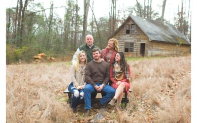 Lee Family | Rustic Family Portraits