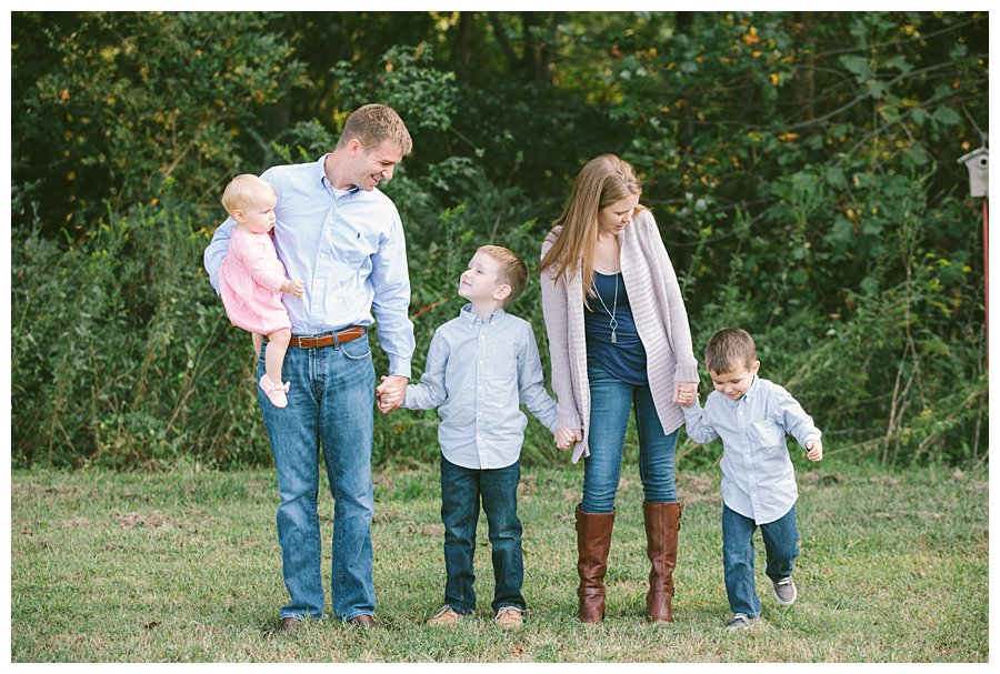 Lake Conestee Nature Park Family Portraits